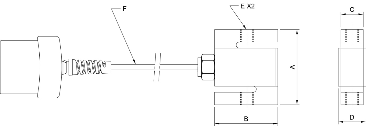 Mark-10 Force Sensors, Series R01