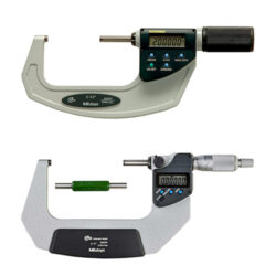 """101 mm / 4"""" Outside Micrometers, Digimatic"""